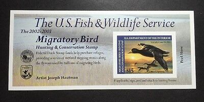 #RW69A 2002 - 2003 - US Federal Duck Stamp - Post Office FRESH