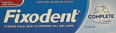 Fixodent Denture Adhesive Fresh 47g x 3 Packs