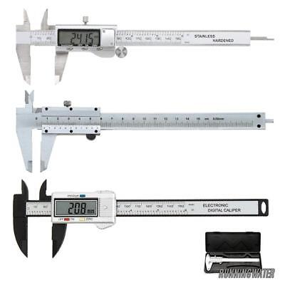 "LCD 6""/150mm Digital Vernier Caliper Micrometer Gauge Accurate Measurement Tool"