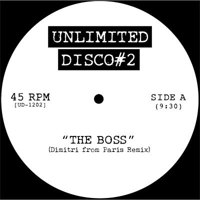 """DIANA ROSS b/w EVELYN CHAMPAGNE KING """"unlimited disco #2"""" Uk12"""" MIX UNPLAYED"""