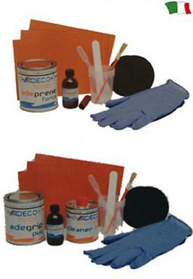 Kit Riparazione Ultra Professional Bicomponente Battelli In Neoprene E Pvc