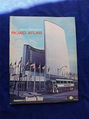 Rand Mcnally Road Atlas Maps Vintage 1975 Canada Tour Travel Points Of Interest