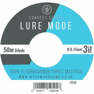 Wychwood Lure Mode Flourocarbon Tippet Material - All Sizes