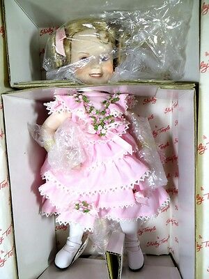 """The Danbury Mint Shirley Temple Doll Of The Silver Screen Little Colonial 13"""""""