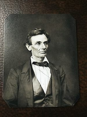 President Abraham Lincoln Civil War TinType C86NP