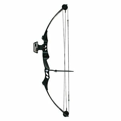 Archery Compound Hunting Bow Arrow Archer Black 55lb Strong Right Handed Rth New