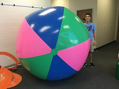 "80"" or (6 1/2 ft.) Tall Inflatable Super Large Monster Giant Stadium Beach Ball"