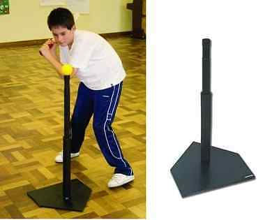 Baseball Ball Hitting Practice Hit Rounders Training Durable Rubber Batting Tee