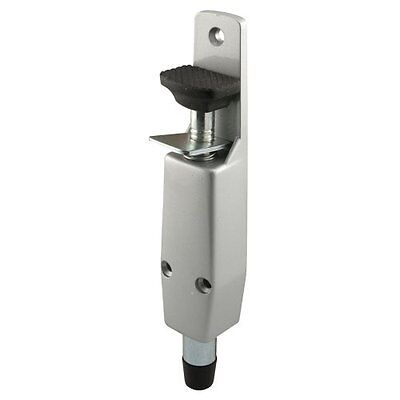 Prime-Line Products J 4595 Spring Loaded Step-On Door Holder with Aluminum Paint