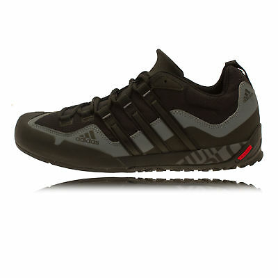 Adidas Terrex Swift Solo Mens Black Outdoors Lace Up Walking Sports Shoes