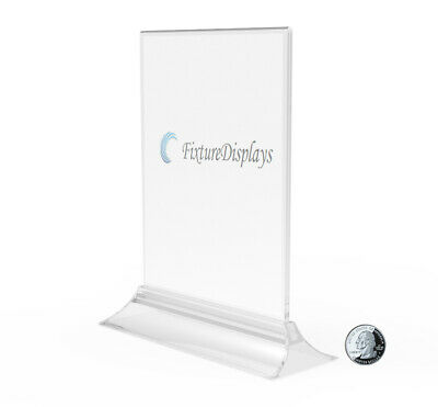 5x7 Clear Acrylic Sign Holder Menu Holder Picture Frame Photo Frame Literature