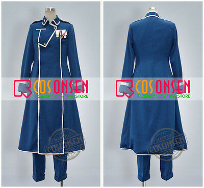 Cosonsen Anime cosplay Fullmetal Alchemist King Bradley Cosplay Costume New