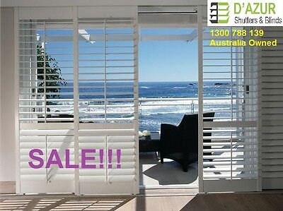 Timber Basswood Plantation Shutters/Custom Made/Buy Direct from Sydney Factory