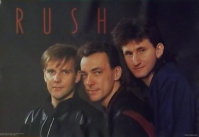 Rush 22x32 Geddy Lee Neil Peart Alex Lifeson Group Poster 1984