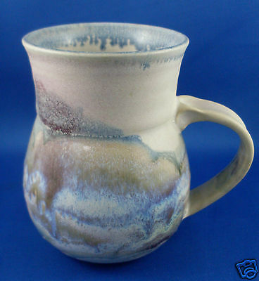 Signed HELEN LEMCKE Handcrafted Australian Pottery Mug RARE Retro Collectable