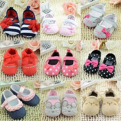 22 Kinds Infant Newborn Toddler Baby Boy Girls Cotton Soft Sole Crib Shoes 0-18M