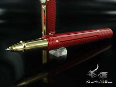 S.T. Dupont D.0 Iron Man Rollerball pen, Ceramium ACT, Gold, Limited Edition