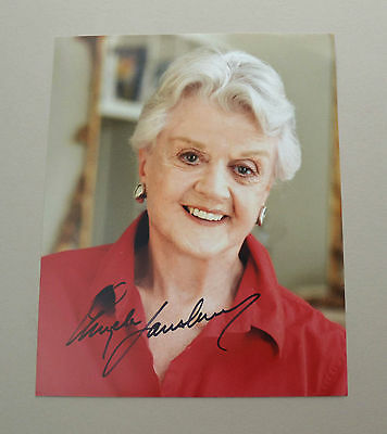 Angela Lansbury Signed 10x8 Photo Genuine Autograph Murder She Wrote Memorabilia