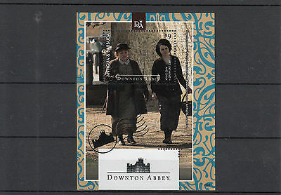 Antigua & Barbuda 2014 MNH Downton Abbey 1v S/S Mrs Patmore Daisy TV Stamps