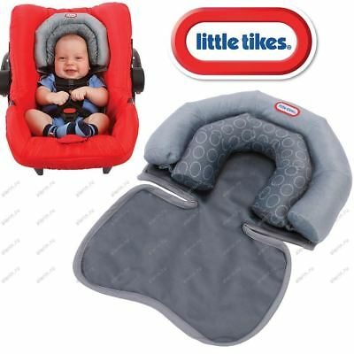 Baby children Infants Comfortable Neck and Head Dual Support Pillow Car Seat