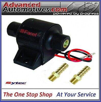 Facet Electric Fuel Pump 1.5 To 4psi With 8mm Unions Classic Kit Car Weber Carb