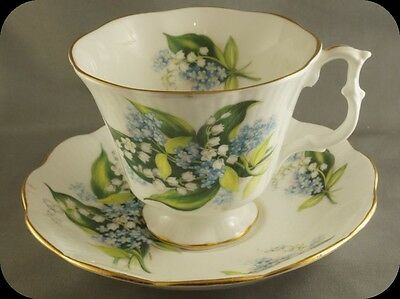Royal Albert Lily Of The Valley Cup & Saucer