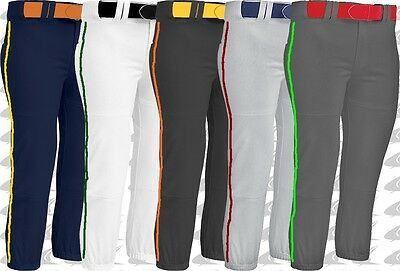 Champro Womens Premium Weight Fastpitch Softball Pants With Custom Piping BP7A