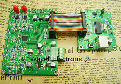 AD9958 200MHz 2 Channel DDS Signal Generator 500MSPS Update AD9854 ADI Software