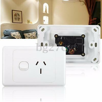 250V 15A Australian Electrical Socket Outlet Home Wall Power Point Supply Switch