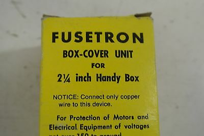 BUSSMAN FUSETRON SSU Box cover Unit for 2-1/4 inch Handy Box