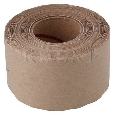 RDEXP Water Activated Sealing Tape Gummed Kraft Paper Tape