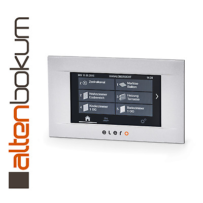 Elero MultiTec Touch-868 silber