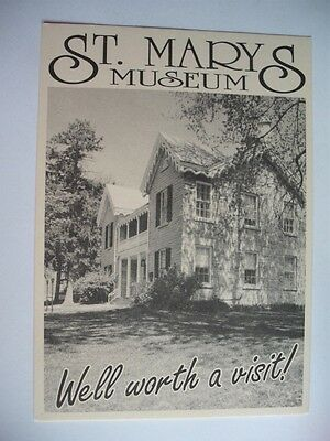 St. Marys Museum Ontario Canada Well Worth A Visit Historical Vintage Postcard