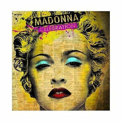 Madonna Celebration Greeting Birthday Blank Card Any Occasion Album Official