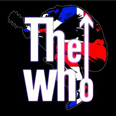 The Who Leap Guitar Logo Greeting Birthday Blank Card Any Occasion Official