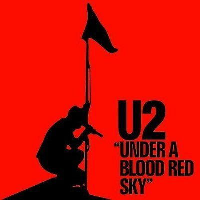 U2 Under A Blood Red Sky Greeting Birthday Card Any Occasion Album Official