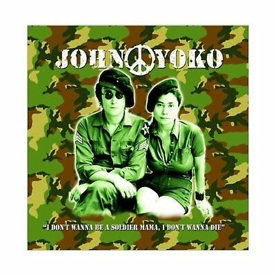 John Lennon And Yoko Greeting Birthday Card Any Occasion Album Cover Official