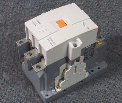 Benshaw Contactor Rsc-100  160 Amp 3 Phase 600 V With 100-240 Vac Coil