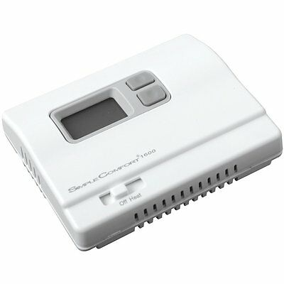 ICM Controls Simple Comfort Non-Programmable Heat Only Thermostat SC1600L