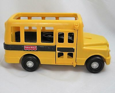 fisher price school bus chunky little people heavy duty. Black Bedroom Furniture Sets. Home Design Ideas