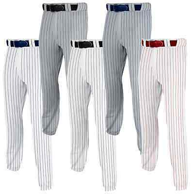 Champro Pro Plus Adult Mens Ankle Length Pinstripe Baseball Pants BP6A-PS