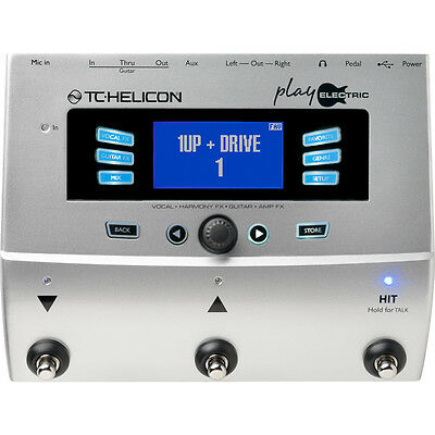 TC Helicon Voicelive Play Electric Vocal Guitar Amp Multi Effects Processor