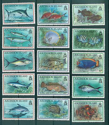 POISSONS - FISHES ASCENSION 1991 Common Stamps