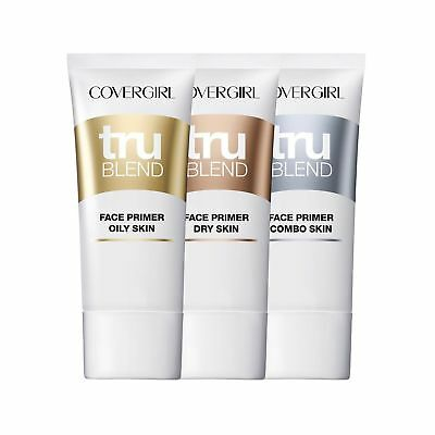 Covergirl TruBlend Face Primer ~ Choose from Dry, Oily or Combo Skin ~ NEW