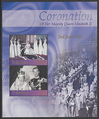 Tokelau 2003 Queen Elizabeth II 50th anniversary of Coronation souvenir sheet