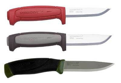 Morakniv Carbon Steel 3 Knife Bundle: Mora 511, Robust, and Companion MG Knives