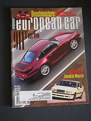 European Car Magazine May June 1995 911 Turbo 1 98 Picclick