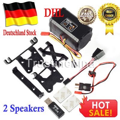 Sense ESS-DUAL +(2 Speakers) Engine Sound Simulator Sense Hobby DE EU DHL