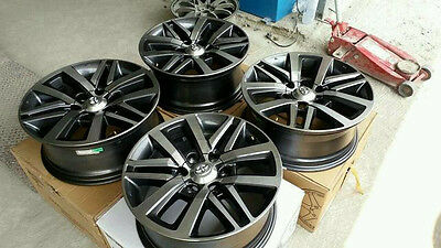 "Genuine OEM Toyota Fortuner Wheels Rims 18"" 6H x PCD 139 4x4 4WD"