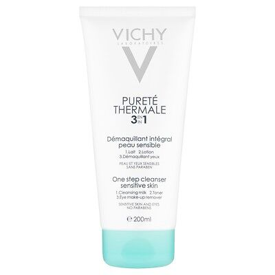 Vichy Purete Thermale 3 in 1 One Step Cleanser - 200ml